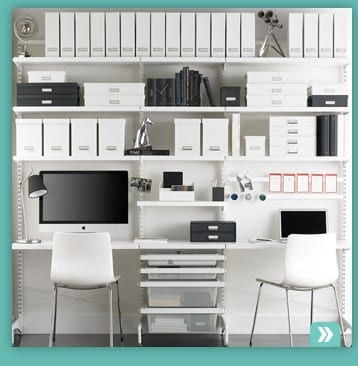 Organized Office organized home office for business success - more time for you