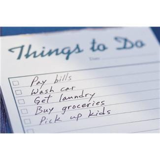 a realistic to do list more time for you