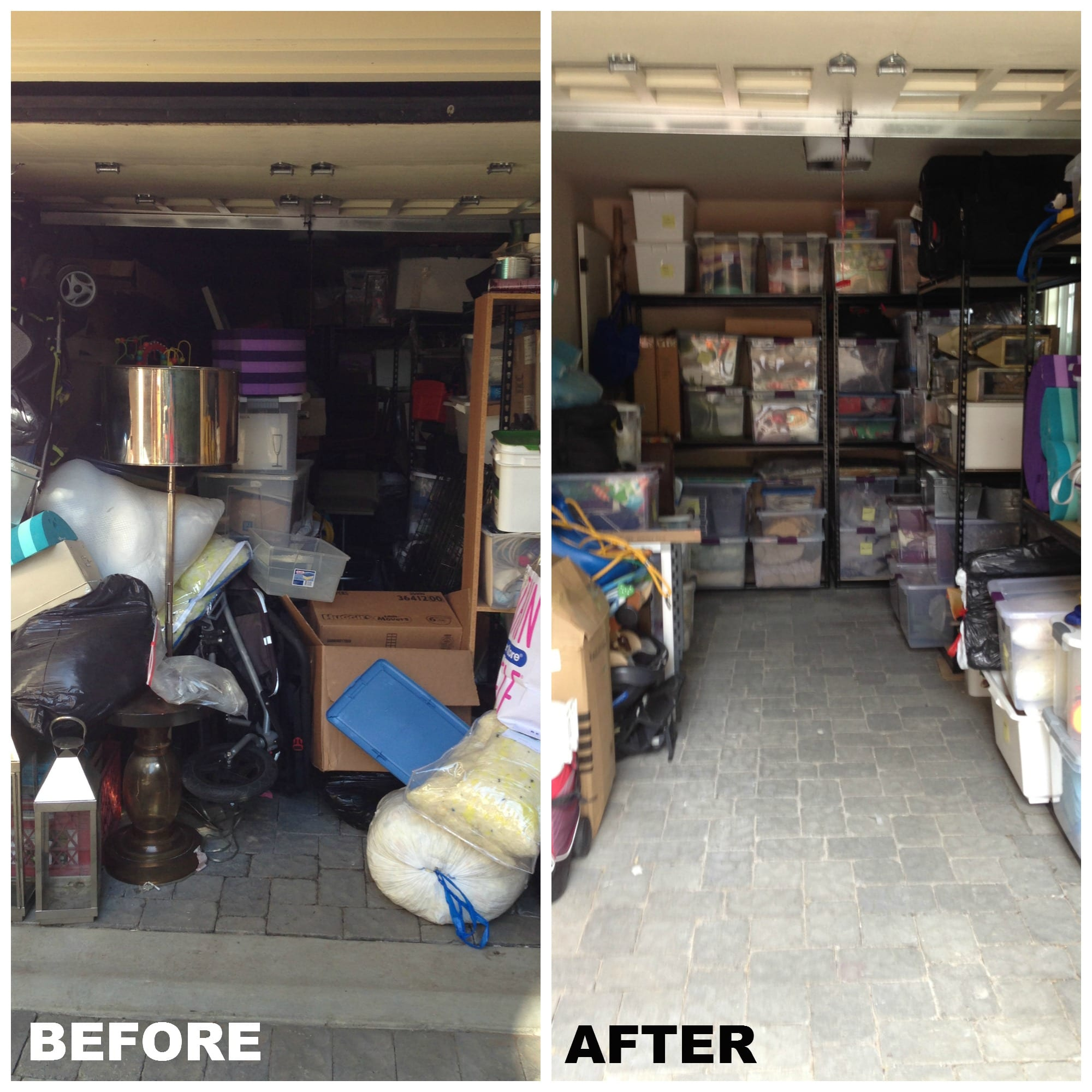 Garage Organization Plan