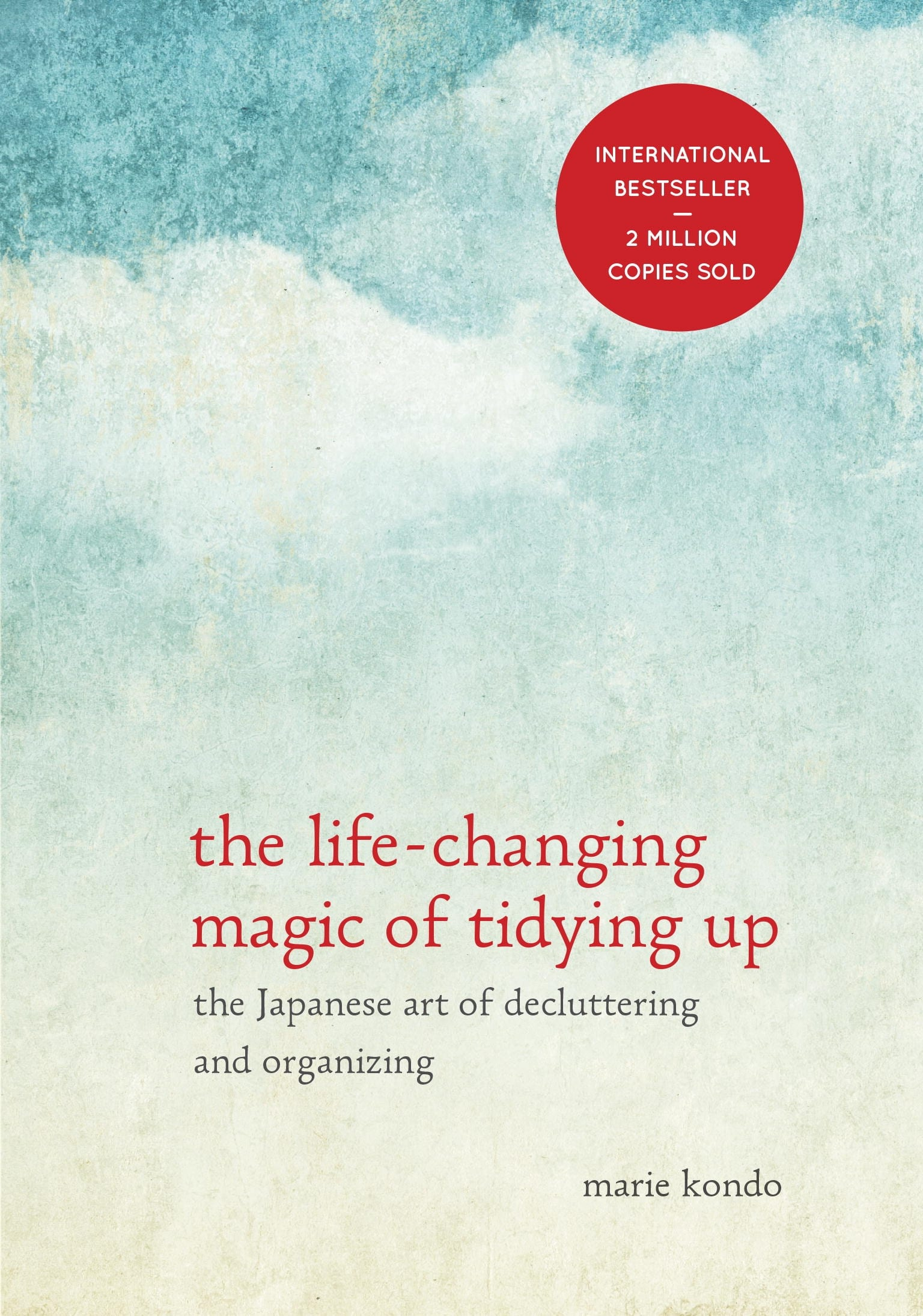 Life changing tidying up