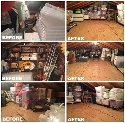 Bay Area professional organizers attic