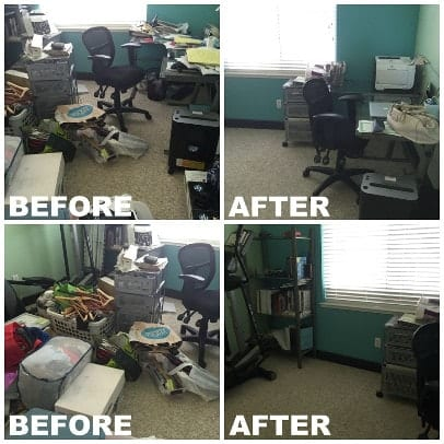 Bay Area professional organizer office